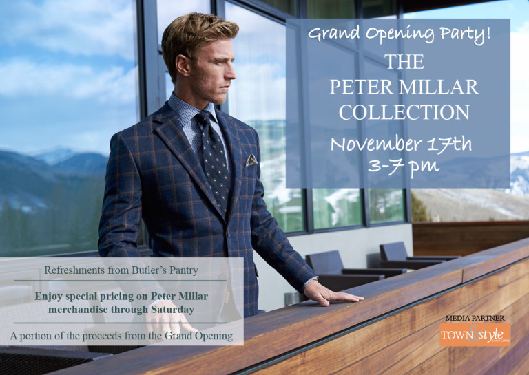 Peter Millar Collection Boutique at Mister Guy Grand Opening