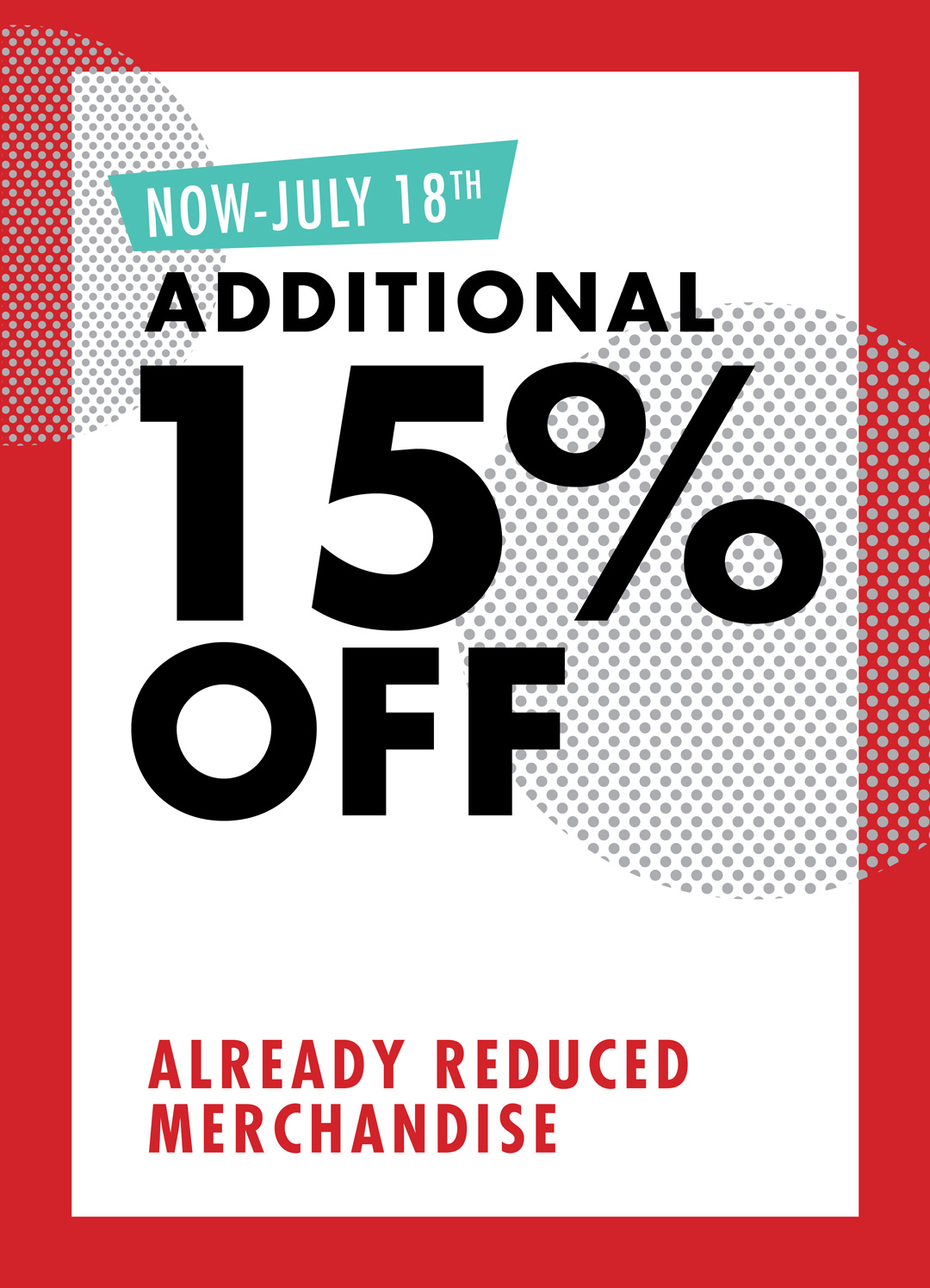 Additional 15% Off