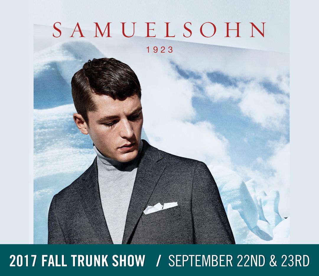 Samuelsohn 2017 Fall Trunk Show