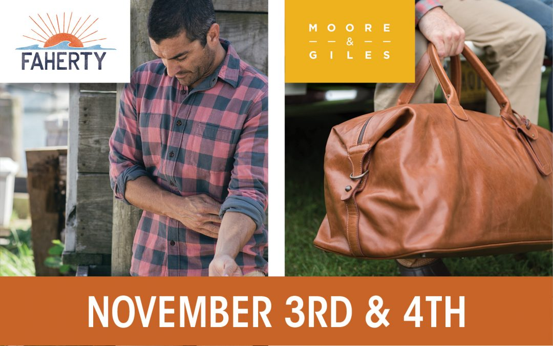 Faherty  +  Moore & Giles Trunk Shows