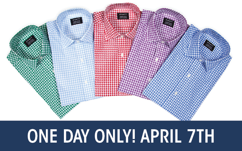 Personalized Fit Shirt Trunk Show 99 Shirt Sizes / 125 Swatches