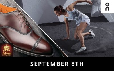 Alden and ON Running Shoes Trunk Show