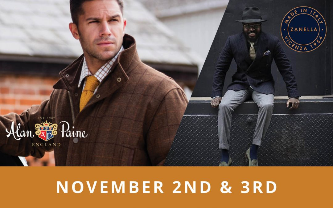 Alan Paine and Zanella Trunk Show