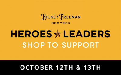 Shop Hickey Freeman October 12th and 13th!