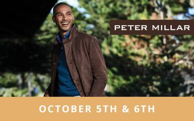 Shop Peter Millar October 5th and 6th!