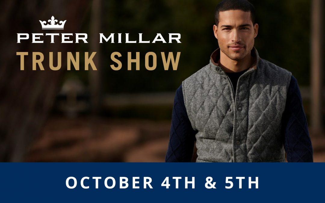 Peter Millar Fall Trunk Show