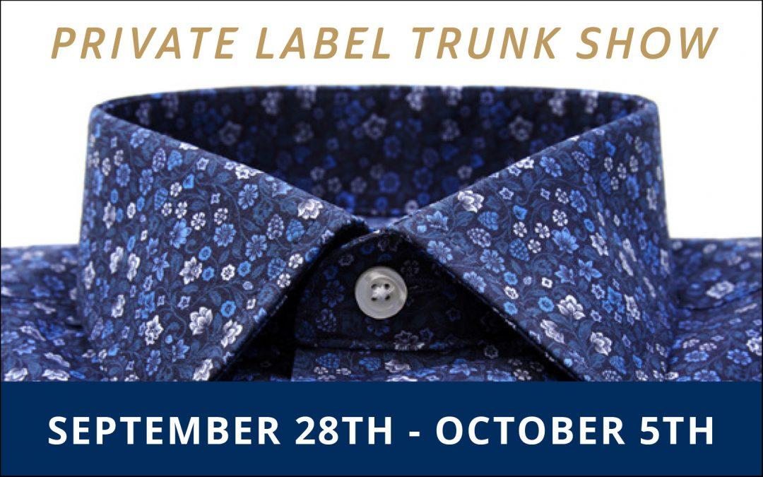 Private Label Trunk Show