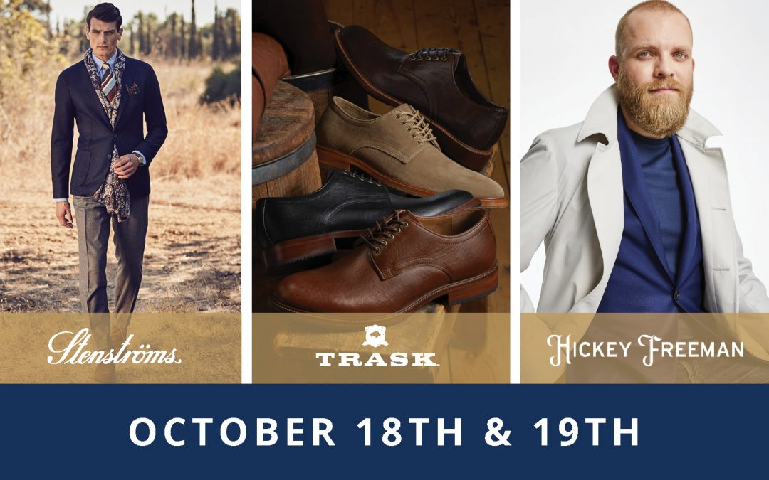 1 Weekend // 3 Trunk Shows