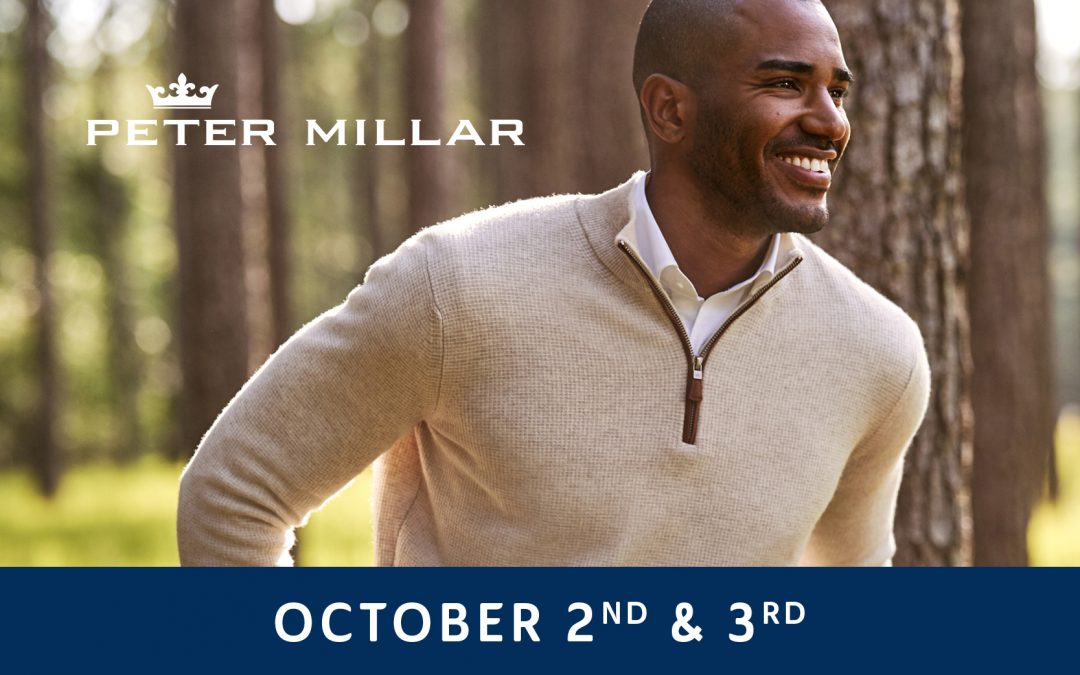 Peter Millar Fall Trunk Show