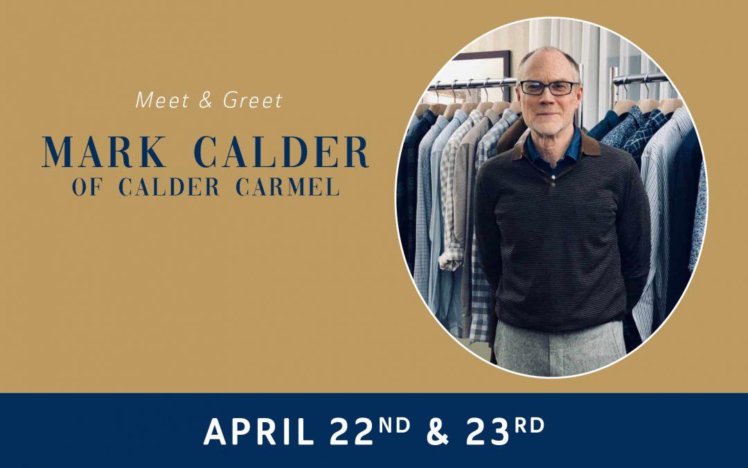 Meet Mark Calder