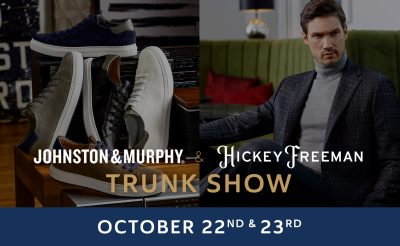 J & M Collection and Hickey Freeman Trunk Show